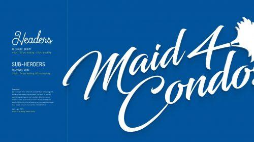 Maid4Condos Brand Design 01